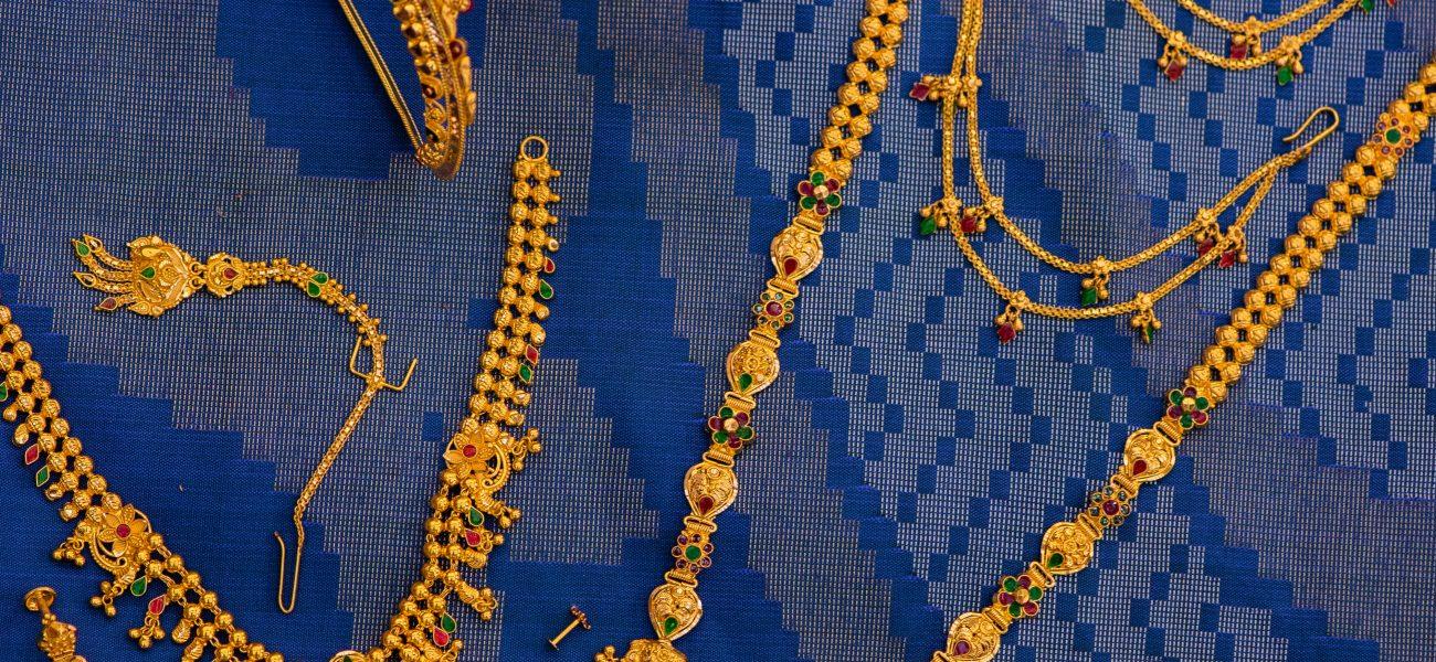Antique gold Jewellery Set