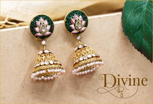 22 Carat Gold Earrings